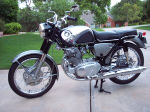 Honda Superhawk CB77