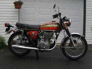 1974 Honda CB450 K7