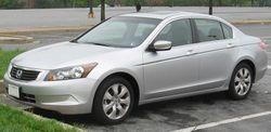 2008 Honda Accord EX sedan (US)