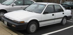 Honda Accord DX sedan (US)