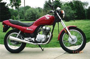 1991 Honda CB 250, US Version